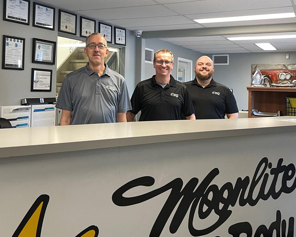 Moonlite Autobody Office