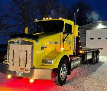 Tow truck service in Winkler Manitoba